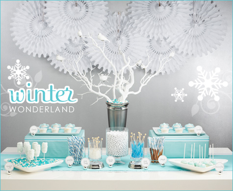 winter wonderland baby shower centerpieces both options go amazingly